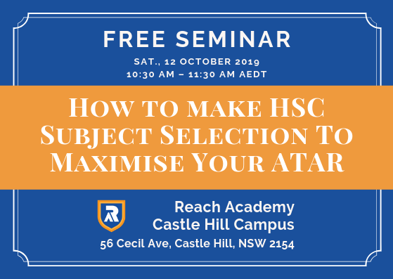 How to make HSC Subject Selection To Maximise Your ATAR